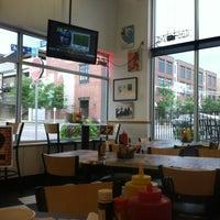 Photo taken at Champa St. Burger Works by Matthew L. on 7/12/2013