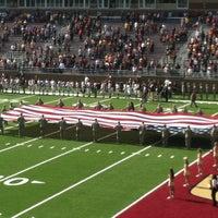 Photo taken at Alumni Stadium by Rose D. on 10/27/2012