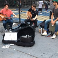 Photo taken at West 4th Street Courts (The Cage) by 孟 M. on 9/1/2016
