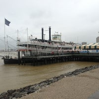 Photo taken at Steamboat Natchez by David G. on 2/11/2013