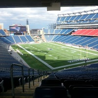 Photo taken at Gillette Stadium by Trevah L. on 1/20/2013