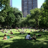 Photo taken at Madison Square Park by Christian on 6/12/2013