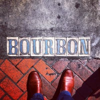 Photo taken at Rue Bourbon by Mike K. on 2/14/2014