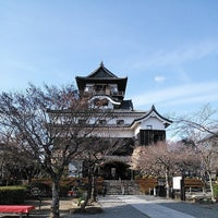 Photo taken at Inuyama Castle by Haruka on 3/8/2014