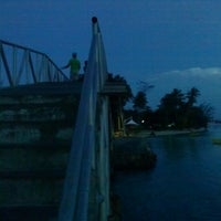 Photo taken at Jembatan Cinta by Joshua B. on 5/17/2013