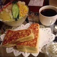 Photo taken at CAFE AALIYA by azusa on 5/10/2013