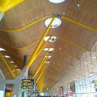 Photo taken at Terminal 4 by Alexey K. on 5/4/2013