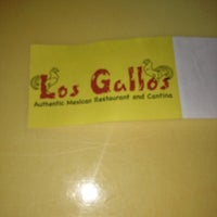 Photo taken at Los Gallos Authentic Mexican Restaurant and Sports Cantina by Tiana S. on 12/11/2012