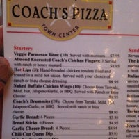 Photo taken at Coach's Pizza by Jenna B. on 11/11/2012