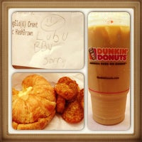 Photo taken at Dunkin' Donuts by Princessgee A. on 6/28/2013