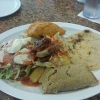 Photo taken at El Salvadoreño by Amy Y. on 11/17/2012