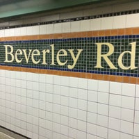 Photo taken at MTA Subway - Beverley Rd (Q) by Geraldine V. on 2/4/2015