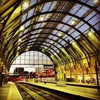 Photo taken at London King's Cross Railway Station (KGX) by James T. on 7/29/2013
