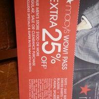 Photo taken at Macy's by Juana E. on 6/19/2013