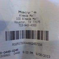 Photo taken at Macy's by Juana E. on 9/8/2013