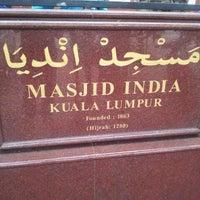 Photo taken at Masjid India by Fairouz Zainal Abidin F. on 2/12/2013