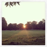 Photo taken at Ravenscourt Park by Eoghan H. on 6/6/2013