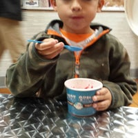 Photo taken at Just Chill Frozen Yogurt by Greg P. on 10/24/2014