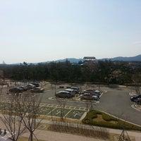 Photo taken at Hanwha Resorts Seorak by Katherine S. on 4/19/2013