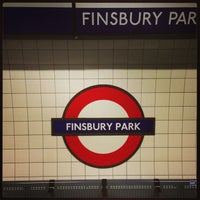 Photo taken at Finsbury Park London Underground Station by Demsi on 8/29/2013