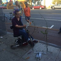 Photo taken at Public Parklet by Todd S. on 8/31/2015