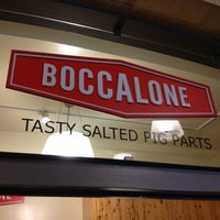 Photo taken at Boccalone Salumeria by Jim G. on 3/3/2013