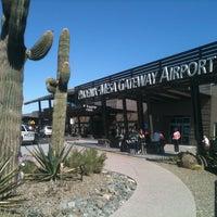 Photo taken at Phoenix-Mesa Gateway Airport (AZA) by Jeremy M. on 2/18/2013