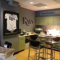 Photo taken at Tropicana Field by Gabriele V. on 5/11/2013