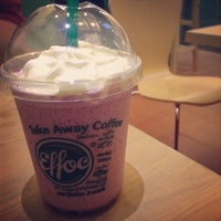 Photo taken at Effoc Cafe by Tinkashi T. on 10/24/2013
