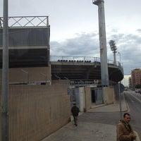 Photo taken at Estadio Municipal Castalia by Sergio G. on 1/27/2013