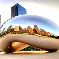 Photo taken at Millennium Park by Aicardo A. on 8/15/2013