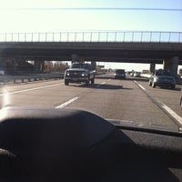 Photo taken at New Jersey Turnpike - Newark by Charity P. on 11/14/2012