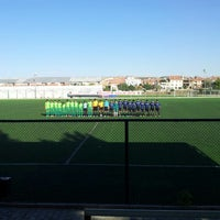 Photo taken at Abdurrahman Temel Futbol Sahası by mesut h. on 9/28/2013