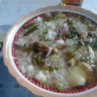 Photo taken at Soto Madura Kak Radji by Ulan A. on 4/14/2013