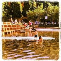 Photo taken at Jamison Square Park by Alex U. on 5/15/2013