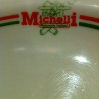 Photo taken at Michelli Ristorante Italiano by Matheus A. on 11/16/2012