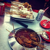 Photo taken at Ban Lee Siang Sate Celup by Kyle T. on 4/20/2013
