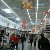 Photo taken at Ашан by Artem S. on 12/23/2012