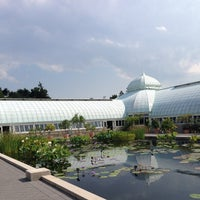 Photo taken at Enid A. Haupt Conservatory by Lansing M. on 7/31/2014