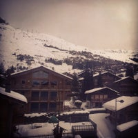 Photo taken at Hotel Montpelier Verbier by Dorcas D. on 1/26/2014