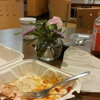 Photo taken at Outtakes Quick Cuisine by Tamar S. on 4/17/2014