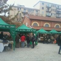 Photo taken at Mercato della Terra by Lucia C. on 11/17/2012