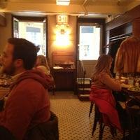 Photo taken at La Bonne Soupe by Konstantinos P. on 3/2/2013