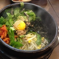 Photo taken at 전주콩나물국밥 by Sop on 11/11/2013