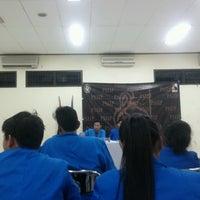 Photo taken at PKM (pusat kegiatan mahasiswa) Universitas Pancasila by Aldo M. on 9/5/2013