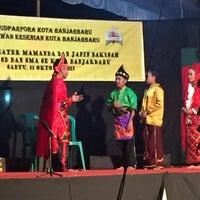 Photo taken at Museum Lambung Mangkurat Banjarbaru by Muhammad N. on 10/31/2015