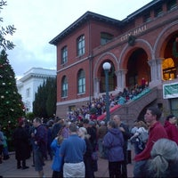 Photo taken at Alameda City Hall by Casey S. on 12/7/2014