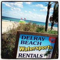 Photo taken at Delray Beach Water Sports - Shed by Tom L. on 1/23/2013