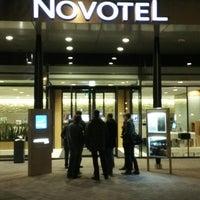 Photo taken at Novotel Amsterdam City by Anton C. on 2/4/2013