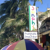 Photo taken at Jonah's Fruitshake and Snackbar by Mikol C. on 3/10/2013